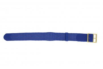 Perlon 18mm bleu lumière