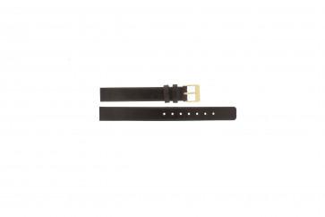 Bracelet de montre Skagen 358XSGLD Cuir Brun 12mm