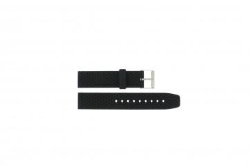 Bracelet de montre Universel PU102 Plastique Noir 20mm