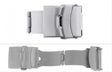 Fermeture Pliez SL661 pour bracelet de montres cuir 12 / 22mm