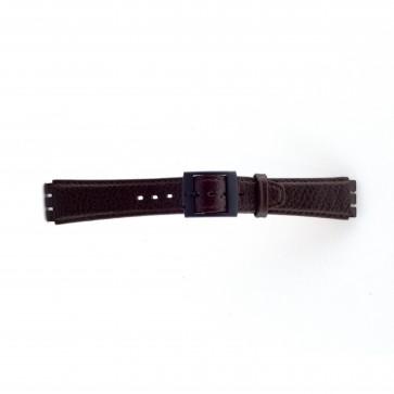 Bracelet de montre pour swatch brun 17mm PVK SC04.02