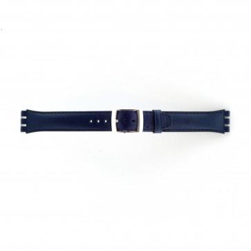 Bracelet convenable pour  Bleu marine 19mm