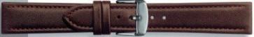 18mm en cuir brun foncé PVK-283