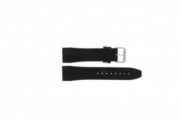 Tommy Hilfiger bracelet de montre TH17-90-833 Cuir Noir 24mm + coutures noires