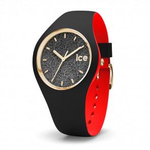 Bracelet de montre (Combinaison bracelet + cas) Ice Watch 007237 Caoutchouc Noir