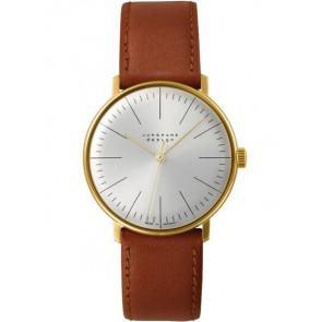 Bracelet de montre Junghans 027/5703.00 Cuir Brun clair