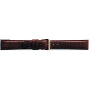 Bracelet de montre en cuir 10mm brun PVK-054