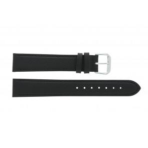 Bracelet de montre en cuir 14mm noir PVK-054xl