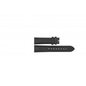 Esprit bracelet de montre ES103342006 Cuir Noir 20mm + coutures noires
