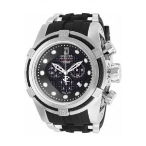 Bracelet de montre Invicta 12954.01 Caoutchouc Noir