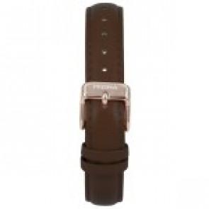 Bracelet de montre Prisma 1441 Cuir Brun foncé 14mm