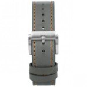 Bracelet de montre Prisma 1591 Cuir Gris 22mm