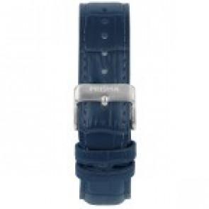Bracelet de montre Prisma 1601 Cuir Bleu 21mm