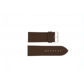 Other brand bracelet de montre Pebro 169-30 Cuir Brun 30mm