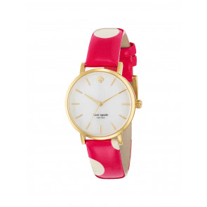 Bracelet de montre Kate Spade New York 1YRU0224 Cuir Rose 16mm