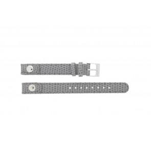 Lacoste bracelet de montre 2000385 / LC-05-3-14-0009 / GR Cuir Gris 12mm + coutures grises