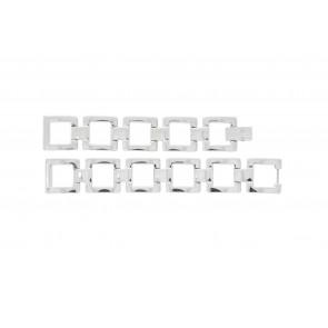 Lacoste bracelet de montre 2000490 / LC-05-3-18-0161 Métal Argent 13mm