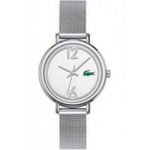 Lacoste bracelet de montre 2000538 / LC-33-3-14-2200 Métal Argent 14mm