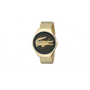 Lacoste bracelet de montre 2000873 / LC-71-3-34-2470 Métal Plaqué or 18mm
