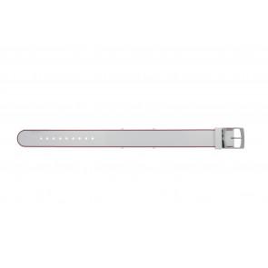 Lacoste bracelet de montre 2000890 / LC-84-3-14-2596 Silicone Rose 18mm