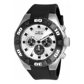 Bracelet de montre Invicta 21403 Silicone Noir