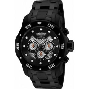 Bracelet de montre Invicta 25334.01 Acier Noir 26mm