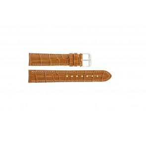 Bracelet de montre Universel 285R.27 Cuir Brun 18mm