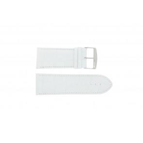 Bracelet de montre Universel 305R.09 Cuir Blanc 32mm