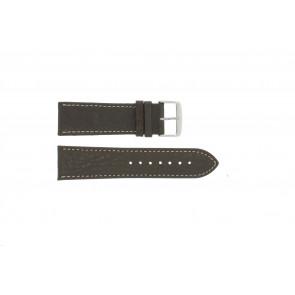 Bracelet de montre Universel 307.02 Cuir Brun 20mm
