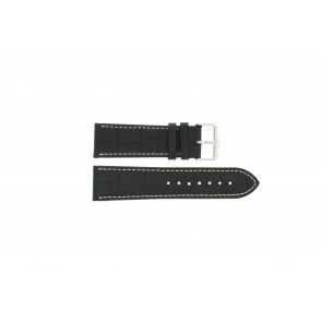 Bracelet de montre 308.01 Cuir Noir 20mm
