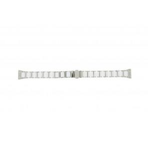 Boccia bracelet de montre 3261-01 Acier/Silicone Argent 16mm