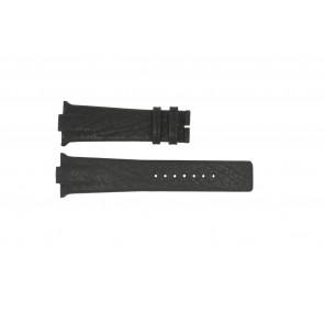 Bracelet de montre Boccia 3519-02 / 3519-03 Cuir Noir 28mm