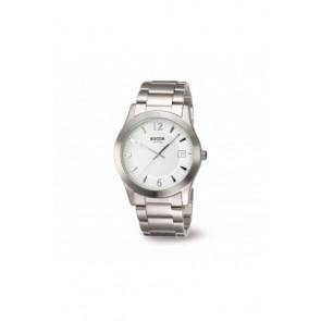 Bracelet de montre Boccia 3550 - 01 Acier Acier 22mm