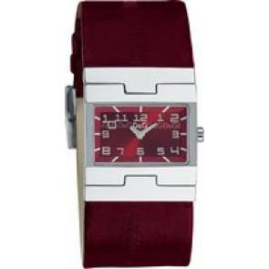Bracelet de montre Dolce & Gabbana 3719251493 Cuir Bordeaux 25mm
