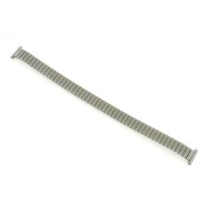 Bracelet de montre 381273 Métal Argent 12mm