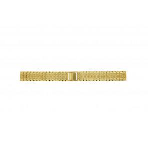 Bracelet de montre Universel 41559.1.16 Acier Plaqué or 16mm