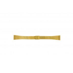 Bracelet de montre Universel 42522.5.16 Acier Plaqué or 16mm