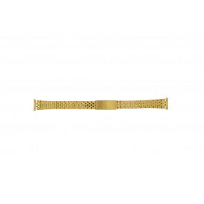Bracelet de montre 42539-1-14 Métal Plaqué or 14mm
