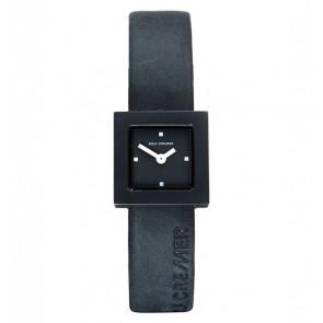 Bracelet de montre Rolf Cremer 496207 Cuir Noir 14mm