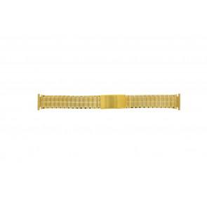 Bracelet de montre Universel 551528 Acier Plaqué or 20mm