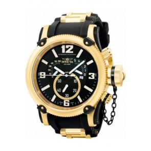 Bracelet de montre Invicta 5670 Silicone Noir