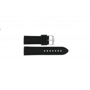 Bracelet de montre 5809 Silicone Noir 26mm