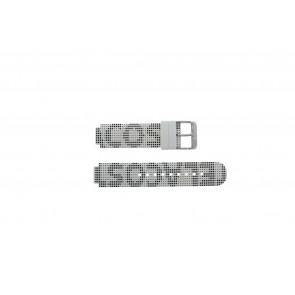 Lacoste bracelet de montre LC-46-1-29-2224 / 609302262 / 2010532 Silicone Blanc 14mm