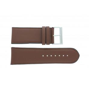 Bracelet de montre 61215B.23.28 Cuir Brun 28mm + coutures défaut