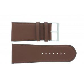 Bracelet de montre 61215EB.23.34 Cuir Brun 34mm + coutures défaut