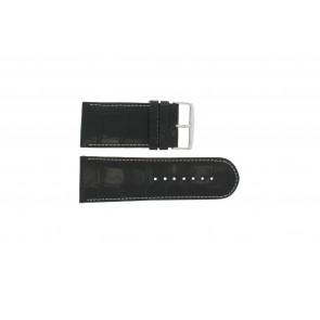 Noir cuir croco wp-61324.32mm