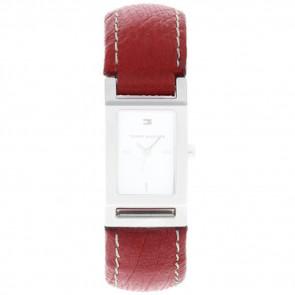 Bracelet de montre Tommy Hilfiger 679300818-8471503 Cuir Rouge