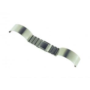 Bracelet de montre Spange 16ST Métal Argent 16mm