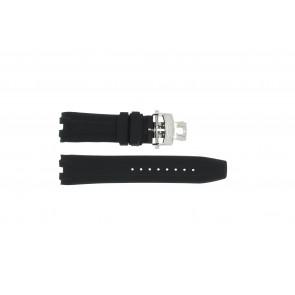 Bracelet de montre Roamer 750837 Caoutchouc Noir