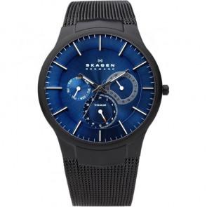 Bracelet de montre Skagen 809XLTBN Acier Noir